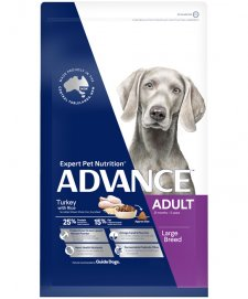 Advance Dog Adult Large+ Breed Turkey 15kg