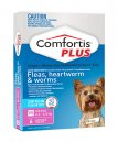 Comfortis Plus Dog 6 Pack Pink 2.3-4.5Kg