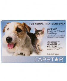 Capstar for Small Dogs and Cats Up To 11Kg 6Tabs