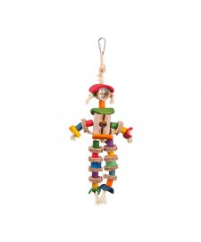Kazoo Bird Toy Man With Sisal Rope XLarge