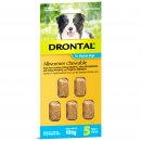 Bay-O-Pet Drontal Allwormer for Dogs 10kg Chews 5Pack