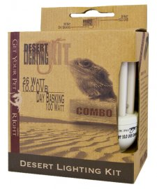 GYPR Desert Combo Kit 26W 10.0 UVB + 100W Day Basking