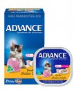 Advance Cat Wet Multipack 7x85g Kitten Chicken Delight