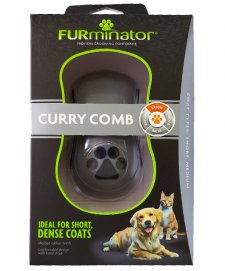 Furminator Box Curry Comb Brush for Dogs and Cats