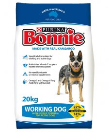 Bonnie for Dogs Working Dog 20kg With Kangaroo