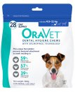 Oravet Dental Chews Small 28Pack