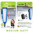 Andis MediumDuty EasyClip RACA with 4 Guide Combs