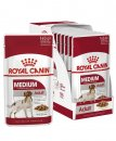 Royal Canin Dog Wet 10x140g Medium Adult
