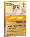Advocate Cat Over 4Kg Large Purple 6Pack