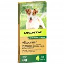 Bay-O-Pet Drontal Allwormer for Dogs and Puppies 3kg Tablet 4Pack