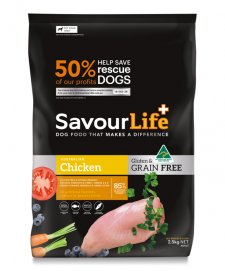 Savour Life for Dogs Grain Free Adult Chicken 2.5kg