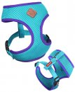Kazoo Action Soft Walking Harness Aqu/Purp S
