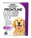 Frontline Plus Dog 20-40Kg Large Purple 3Pack