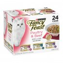 Fancy Feast Collection 24x85g Poultry Beef Grilled