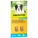 Bay-O-Pet Drontal Allwormer for Dogs 10kg Chews 2Pack
