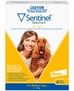 Sentinel Spectrum Chews Dog 11-22Kg Medium Yellow 6Pack