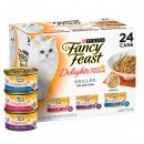 Fancy Feast Collection 24x85g Delights Cheddar