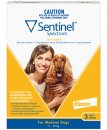 Sentinel Spectrum Chews Dog 11-22Kg Medium Yellow 3Pack