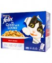 Felix Cat 12x85g Adult Meat Menus