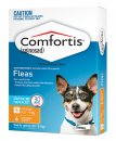 Comfortis for Dogs(4.6-9Kg) and Cats(2.8-5.4kg) 6 Pack Orange