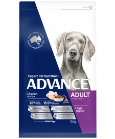 Advance Dog Chicken Large Giant Breed 15Kg