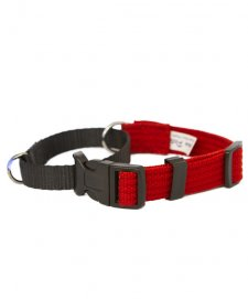 Beaupets Martingale Collar 20Mmx50-70Cm Red