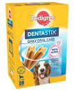 Pedigree Snacks Dentastix Medium Dog 28Pack 10-25kg