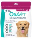 Oravet Dental Chews Large 14Pack for Dogs Over 23kg