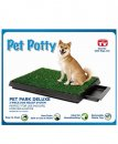 Pet Potty Portable Dog Toilet 64x51x6.5cm 3 Piece Dog Relief System