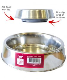 Allpet Ant Free Stainless Steel Bowl 8OZ