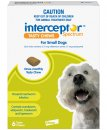 Interceptor Chews Dog 4-11Kg Small Green 6 Pack