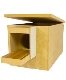 STF Wooden Breeding Box Budgie 25x16x15cm