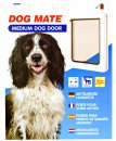 Petmate Dog Mate Dog Door Medium White