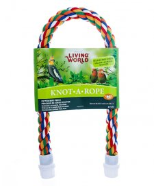 Living World Knot A Rope Cotton Perch 53cm x 20mm