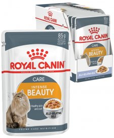 Royal Canin Cat Wet Pouches 12X85G Jelly Intense Beauty