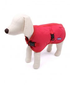 Kazoo Coat Reflective Nylon Soft Red Im 53.0cm