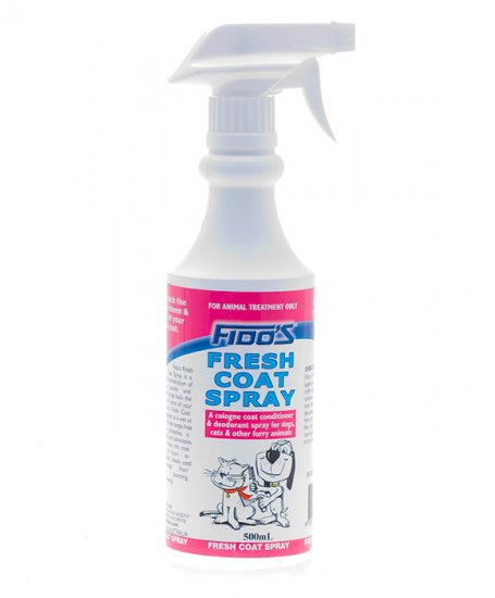 Fidos Fresh Coat Spray 500ml - Click Image to Close