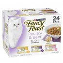 Fancy Feast Collection 24x85g Poultry Beef Sliced