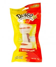 Dingo Bone White Medium 1Pack