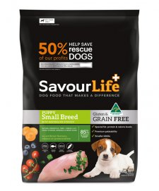 Savour Life for Dogs Grain Free Puppy Small Breed 2.5kg