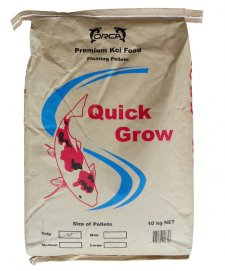 Orca Quickgrow High Protein Floating Pellets 10kg Size Baby 1mm