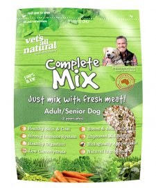 Vets All Natural Complete Mix Adult/Senior Refill 15Kg