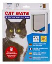 Petmate Cat Mate Door 4Way Locking White