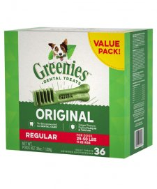 Greenies Canine Snacks Value Pak Regular 1kg