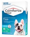 Comfortis for Dogs(9.1-18kg) and Cats(5.5-11.2kg) 6 Pack Green