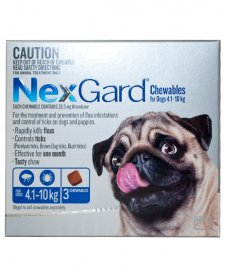 NexGard Chews Small 4-10kg 3Pack