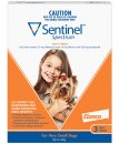 Sentinel Spectrum Chews Dog Upto 4Kg XSmall Red 3Pack