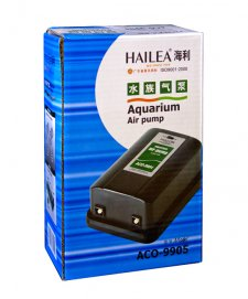 Hailea Air Pump ACO-9905 6.5/min Variable Twin Outlet