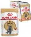 Royal Canin Cat Wet Pouches 12X85G British Shorthair Adult
