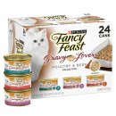 Fancy Feast Collection 24x85g Poultry Beef Gravy